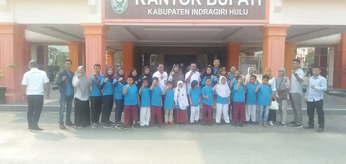 Pemkab Inhu Lepas Atlet Taekwondo  Ikuti Open Turnamen di Pekanbaru