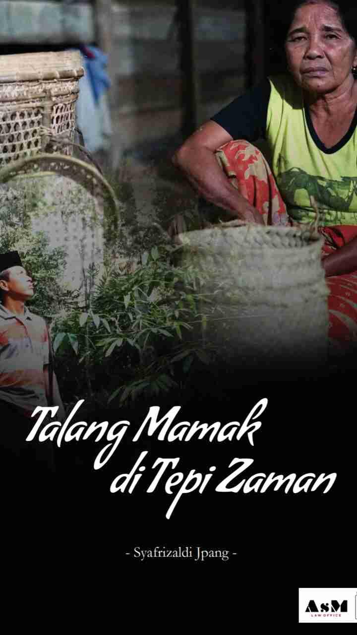Talang Mamak di Tepi Jalan