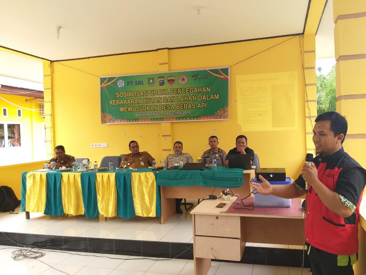PT SRL Siapkan 100 Juta untuk Desa Bebas Api
