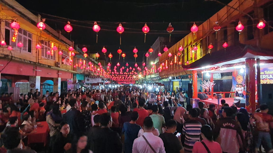 Malam Ini, Detik-detik Imlek di Jalan Karet
