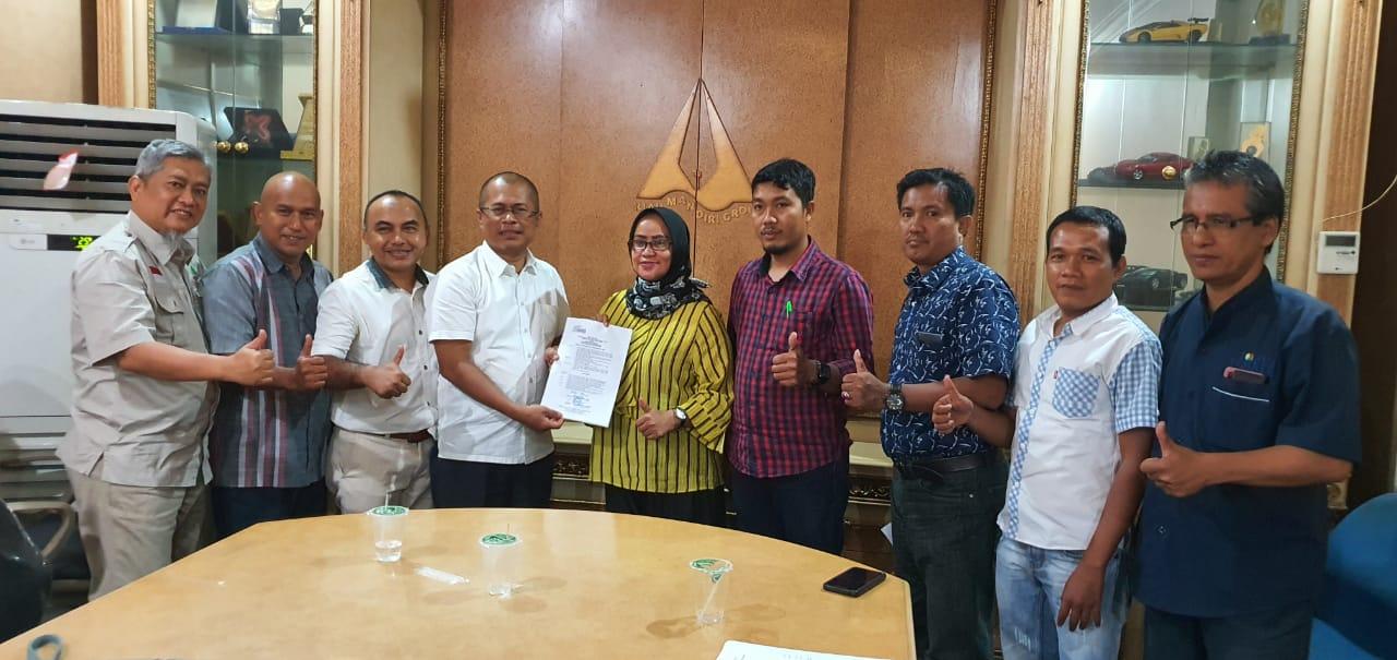 SMSI Riau 2020-2025 Terbentuk, Pengurus Gelar Rapat Perdana