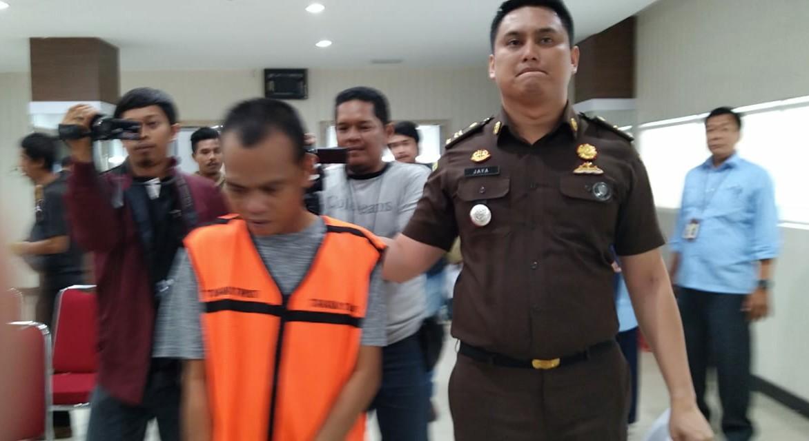 Tilap Pajak Rp 735 Juta , Direktur CV ABM Ditahan Jaksa