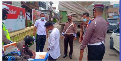 Operasi Yustusi di Ujung Batu, 40 Warga Terjaring Tak Kenakan Masker