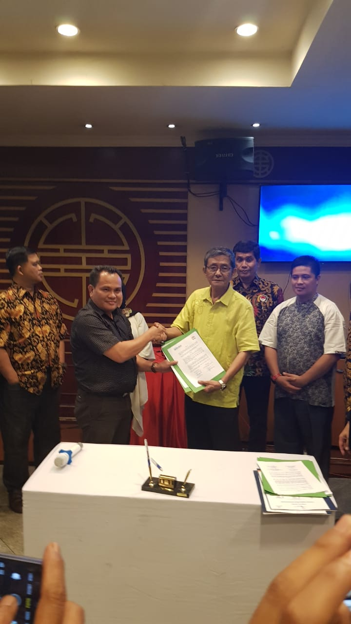 Malam Silahturahmi Seminar kebangsaan,FPK Riau Tekan MoU dengan Metro Riau