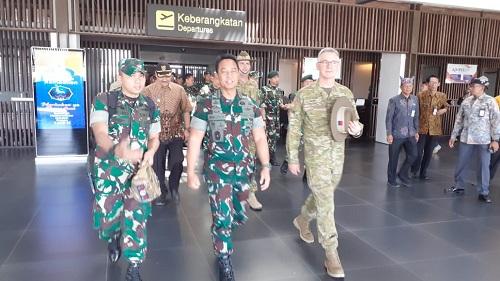 Kasad Indonesia dan Australia Saksikan Latihan Bersama Wirra Jaya Ausindo