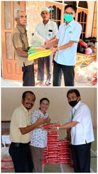 Lagi, APHI Komda Riau Serahkan 1003 Paket Sembako ke Masyarakat
