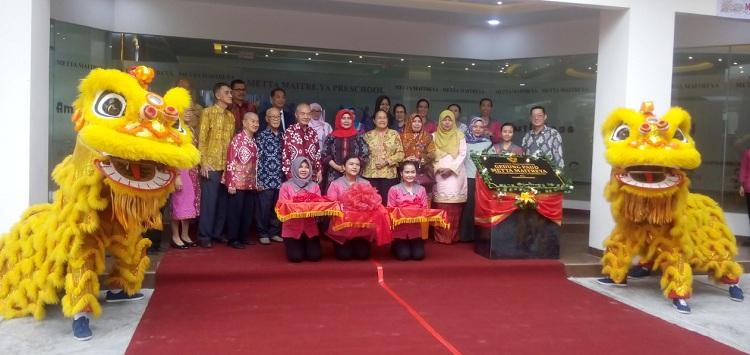 Walikota Pekanbaru Resmikan Gedung PAUD Metta Maitreya