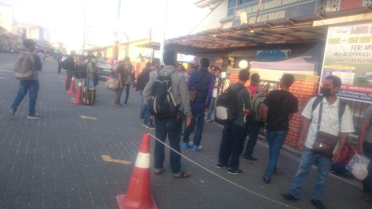 KJRI Johor Bahru Fasilitasi WNI yang Tertahan di Muar