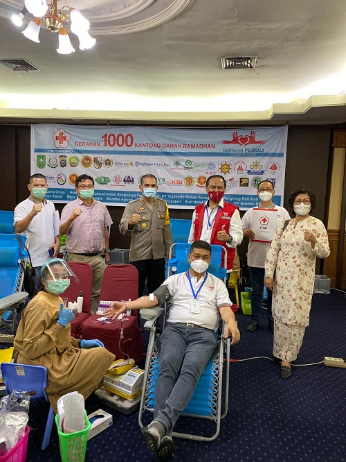 Gerakan 1000 Kantong Darah Ramadhan Raih Rekor MURI