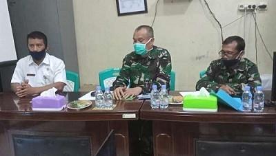 110 Anggota TNI Batalyon 132-BS akan Dirapid Test