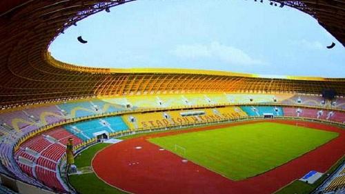 Ingin Jadi Venue Piala Dunia U-20, Stadion Utama Riau Dibersihkan