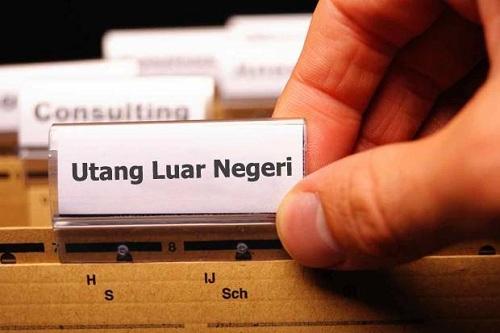 Utang Luar Negeri Indonesia Capai 389,3 Miliar Dolar AS