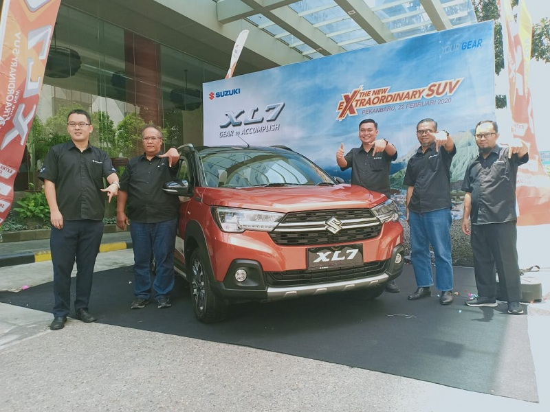 Hadir di Riau, Ini Keunggulan Suzuki XL7